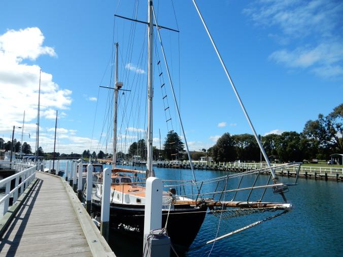 Moyne River, Port Fairy, Victoria.