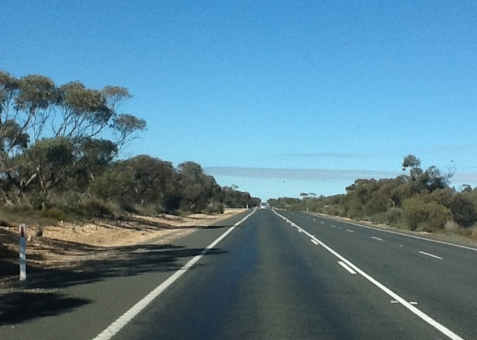 Once you get past the grassy country, the dirt is this orange-coloured sandy soil that is typical of remote Australia.