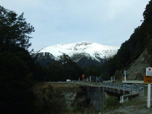 022 Tindall's Creek Bridge, heading up to Lewis Pass.