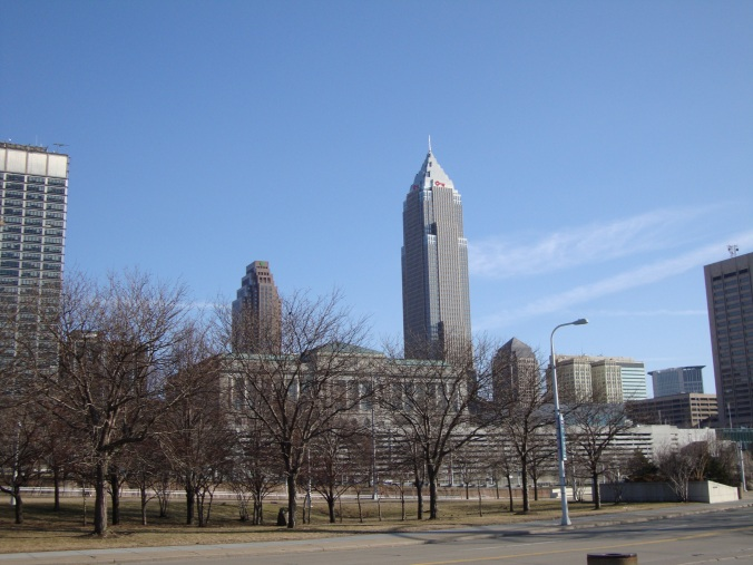 2014-04-02 08.58.49 Cleveland City Skyline