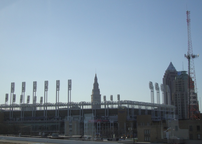 2014-04-02 08.38.15 Cleveland Indians Stadium, Progressive Field